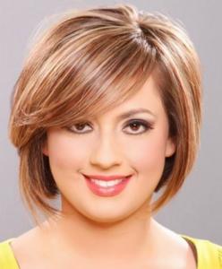 Trend model potongan gaya rambut wanita masa kini sesuai dengan bentuk wajah bulat