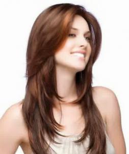 Trend model potongan gaya rambut wanita masa kini sesuai dengan bentuk wajah panjang